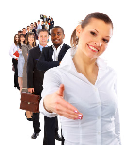 bigstock-businesswoman-and-shis-team-13871273